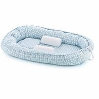 Mom & Dad Side Baby Bed Blue