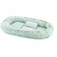 Mom & Dad Side Baby Bed Green