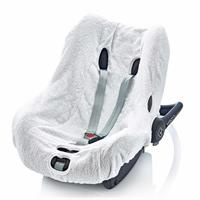 Infant Carrier Towel Cover White