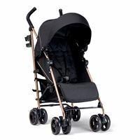 Tour Buggy Rose Gold Baby Stroller - Black