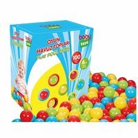 Kids 100 pcs Toy Pool Balls 6 cm