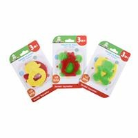 Cute Animals Soft Teether 2 pcs 3 Months+