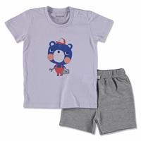 Baby Small Leopard Supreme T-shirt Short 2 pcs Set