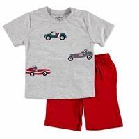 Summer Baby Boy Cars T-shirt Short 2 pcs Set