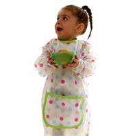 Coloured Polka Dotted Large Baby Activity Bib