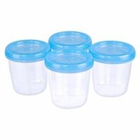 Milk and Food Storage Container 4 pcs