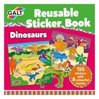 Reusable Sticker Book - Dinosaurs / Dinozorlar 3 Yaş+