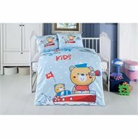 Baby Duvet Cover Set Captain 100x150cm