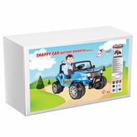 Snappy Battery-Powered Jeep 12 V Blue