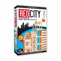 Redcity Wooden Blocks 100 Pieces