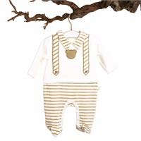 Baby Boy David Footed Romper