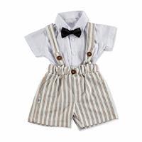 Baby Bow Tie Shirt - Short