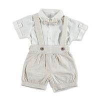 Bebek Kareli Gömlek - Şort