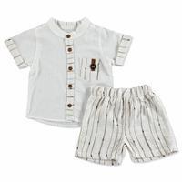 Baby Sport Striped Shirt - Shorts