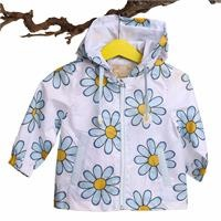 Daisy Printed Baby Girl Rain Coat