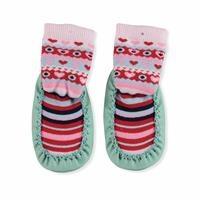 Karısık Desen Çarık Kız Bebek Çorap