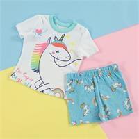 Summer Baby Basic T-shirt Short 2 pcs Set