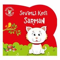 Cute Cat Sarman - Turkish Book