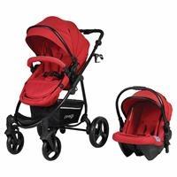 Prego Impala Travel Sistem Bebek Arabası Kırmızı