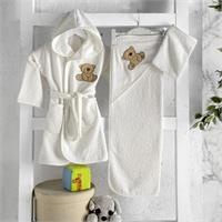Baby Bathrobe Set