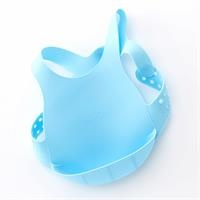 Silicone Baby Feeding Bib - Waterproof - Stainproof