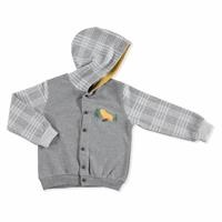 Cute Bear Theme Hooded Cardigan