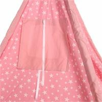 Foldable Kizildere Baby Tent Pink
