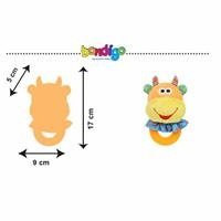 BP2405 Rattle Teether Cow