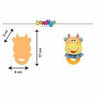 BP2405 Çıngıraklı Diş Kaşıyıcı İnek