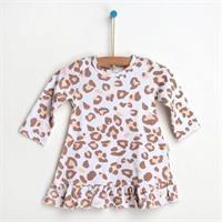 Leopard Newborn Dress