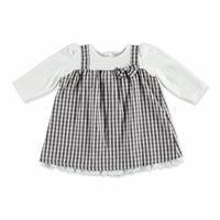 Winter Baby Girl Plaid Dress