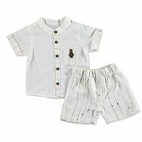 Baby Sport Striped Shirt - Shorts