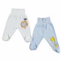 Baby Boy Comfort Waist Footed Pant 2 pcs