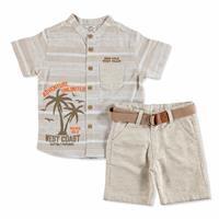 Bebek Palmiye Gömlek - Şort