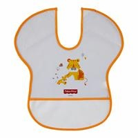 Baby Poly Half Sleeve Feeding Apron Lion