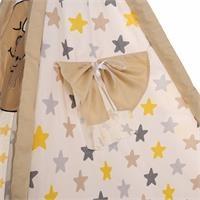 Foldable Kizildere Baby Tent Yellow Gray