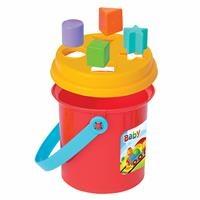 Baby Shape Sorter Puzzle Bucket
