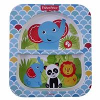 Jungle Divided Baby Food Plate