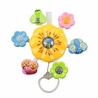 Baby Toy Hanging Corded Flowers