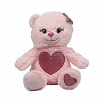 Baby Toy Plush Bear Heart 25 cm