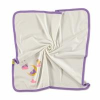 Multipurpose Cotton Printed Baby Blanket 80x80 cm