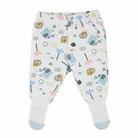 Lion Organic Baby Footed Trousers