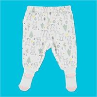 Rabbit Organic Baby Footed Trousers