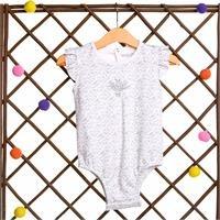 Flower Theme Baby Girl Ruffled Detailed Bodysuit