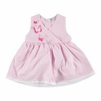 Summer Butterfly Theme Baby Girl Sleeveless Dress