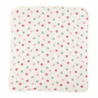 Stars Soft Bebek Baskılı Çok Amaçlı Battaniye 80x80 cm