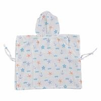 Baby Printed Poncho Bathrobe