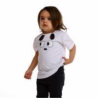 Erkek Bebek Bisiklet Yaka Eğlenceli Kulak Süprem Tshirt