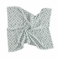 Cactus Patterned Muslin Blanket 100X120