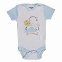 Summer Baby Boy Sun and Elephant Bodysuit
